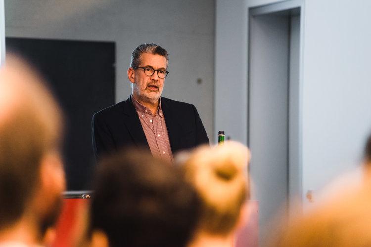 Richard C. Schneider - ehemaliger Leiter der ARD-Studios in Tel Aviv und Rom