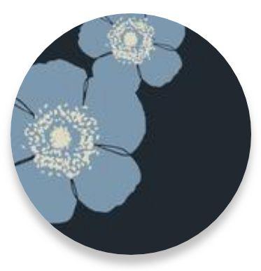 Poppy Steel Blue-Grey