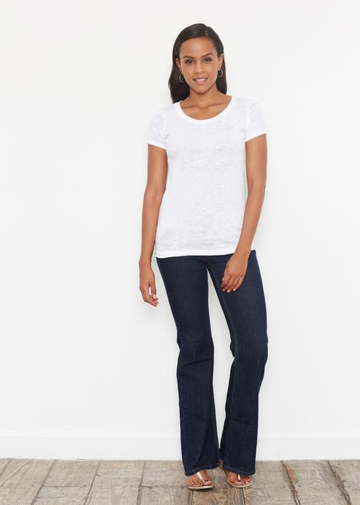 Short Sleeve Scoop Shirt