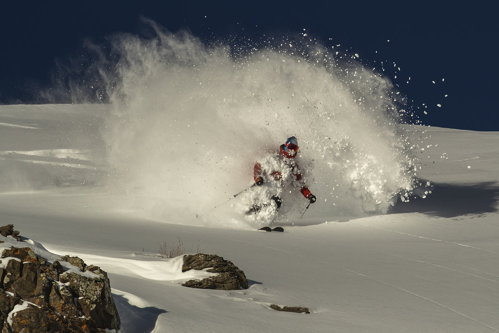 Mike Barney emerges from the white room. Photo by  Jeff Cricco