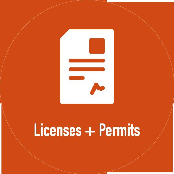 Licenses + Permits
