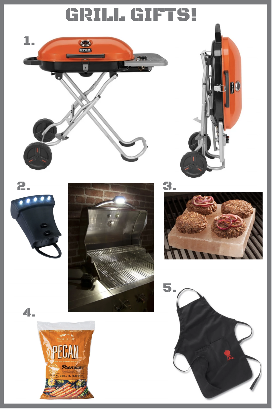 Best Grilling Gift Guide | Jana Donohoe Designs | Fayetteville, North Carolina | www.janadonohoedesigns.com
