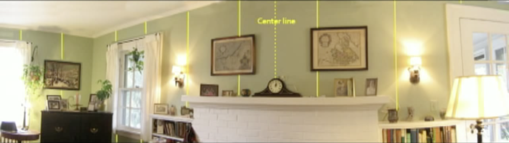 How To Hang Wallpaper From the Center Jana Donohoe Designs Fayetteville, North Carolina 28301,