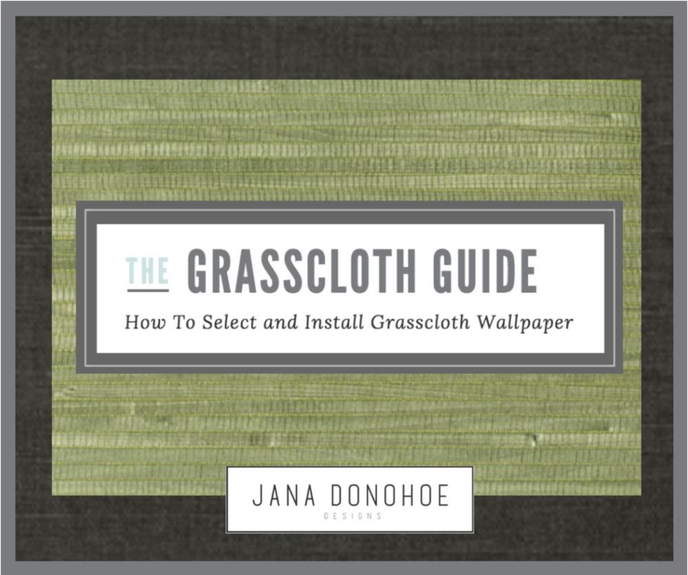 The Ultimate Guide on How To Install Grasscloth Wallpaper by interior designer, Jana Donohoe of Fayetteville, North Carolina based www.janadonohoedesigns.com
