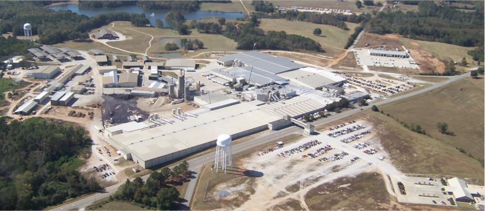 The Wellborn Kitchen Cabinet factory in Ashland, Alabama