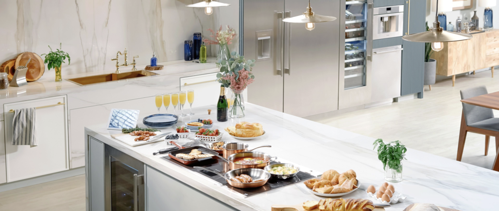 Follow me on Instagram  here  along with the hashtags, #KBIS2019 + #DesignHoundsKBIS to see everything! Shown: a kitchen from #DesignHounds tour sponsor, Thermador's website.