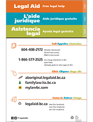 Legal Aid Poster (Multilingual)