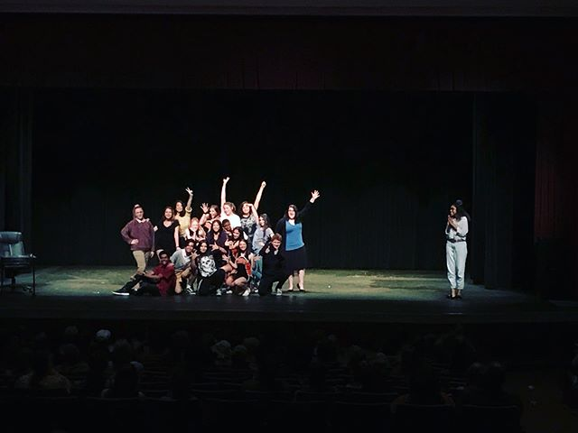 This year's Senior One Acts came to a close last Saturday. With six excellent and strong casts and nine hardworking directors, this year was definitely a success! Thank you to all the staff and students who put so much time and effort into One Acts this year!