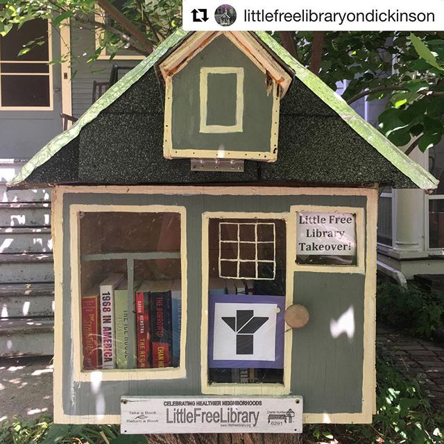 "#Repost @littlefreelibraryondickinson with @get_repost ・・・ Takeover week!!! This week, our library will be filled with books from @groveatlantic , an independent publisher based in NYC 📚📚 Stop by the little free library this week to borrow one of these great reads: •""Cold Mountain,"" Charles Frazier •""I Want to Show You More,"" Jamie Quatro •""Young Skins,"" Colin Barrett •""Shaler's Fish,"" Helen Macdonald •""H is for Hawk,"" Helen Macdonald •""The Last Hack,"" Christopher Brookmyre •""Matterhorn,"" Karl Marlantes •""The Borrowed,"" Chan Ho-Kei •""The Red Word,"" Sarah Henstra •""The Ice House,"" Laura Lee Smith •""1968 in America,"" Charles Kaiser •""The Sympathizer,"" Viet Thanh Nguyen"