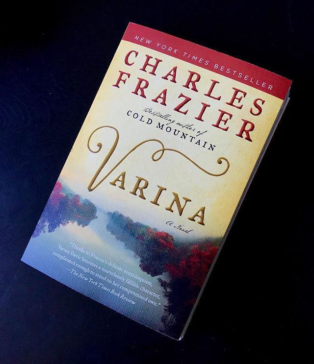 VARINA is now available in paperback! Grab it at your local independent bookstore or at #indiebound (indiebound.org), @barnesandnoble, @booksamillion, or @amazonbooks. @eccobooks did a beautiful job with the paperback—the deckle edge paper, flaps, and heavy cover stock really show off @al_saltzman's gorgeous cover design. /// #book #bookstagram #paperback #amreading #tbr #reading #books #historicalfiction
