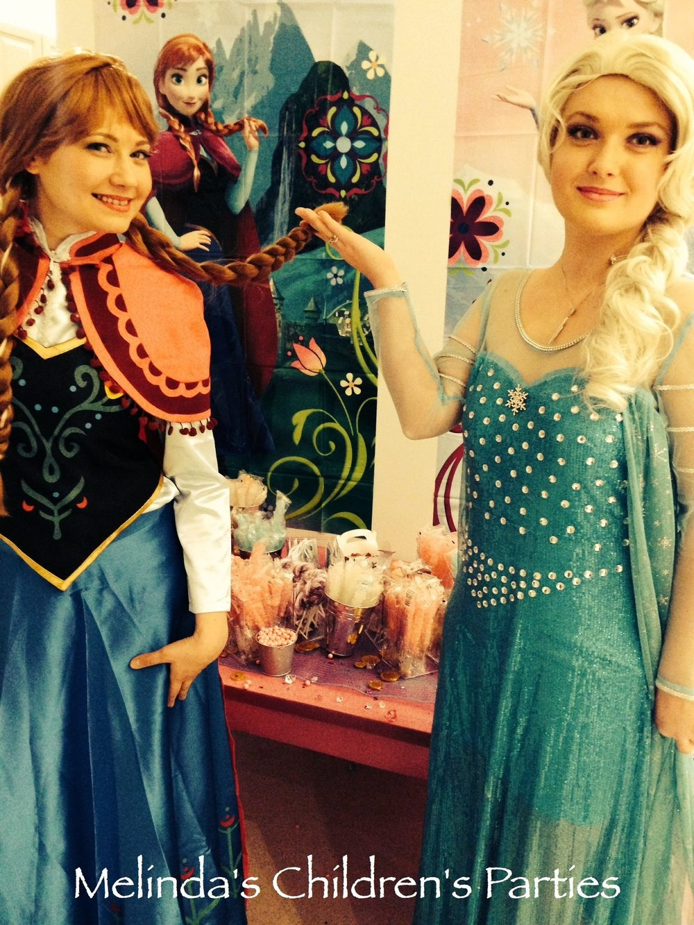 Princess Character Visit for your children's party!