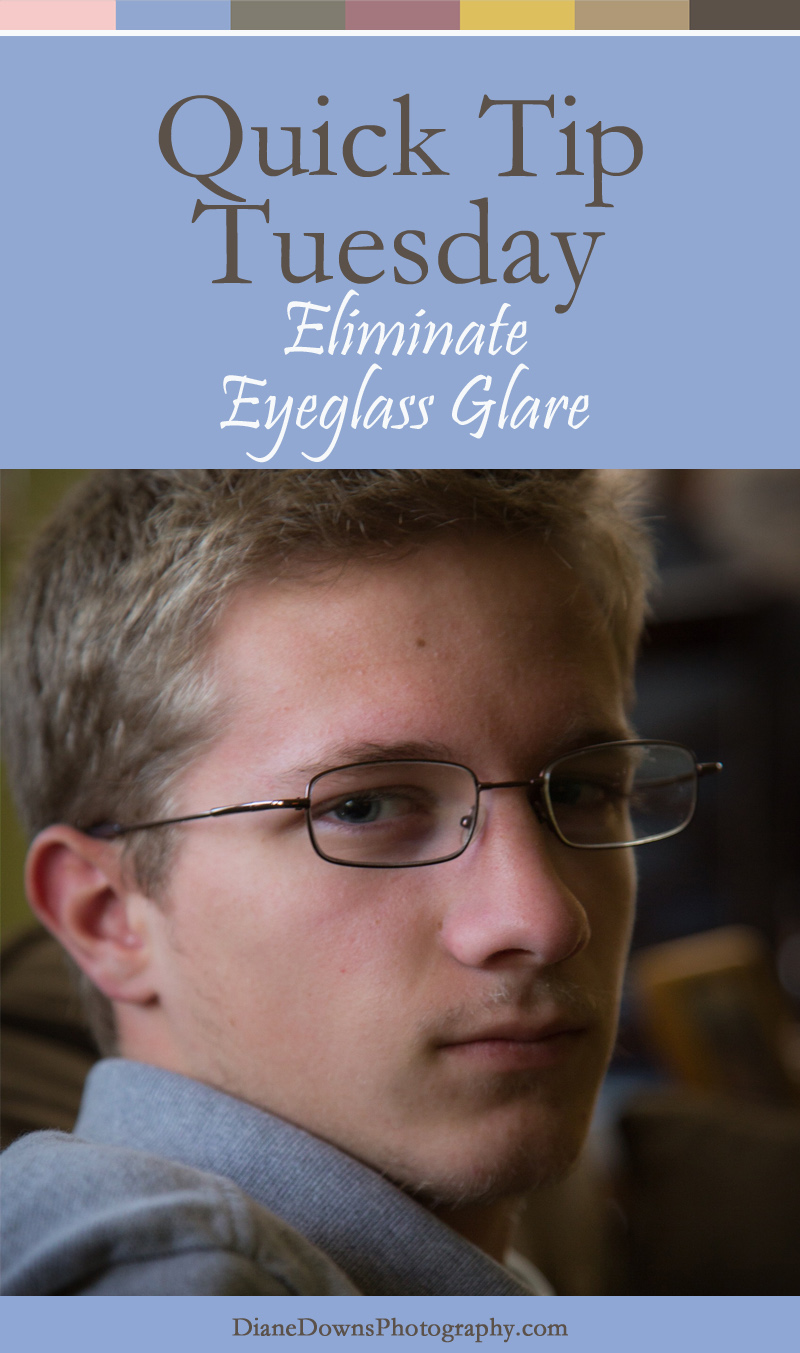 Do you have trouble capturing photos of family and friends with eyeglasses? Click through to read how to eliminate glare in camera.