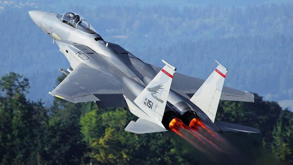 F-15 Full Burner Low Transition Single (Energy)