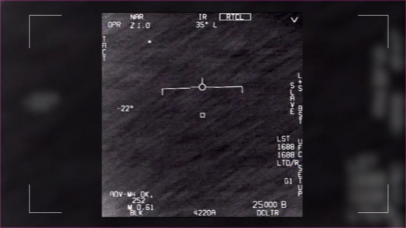 F-18 Tracking UFO Image