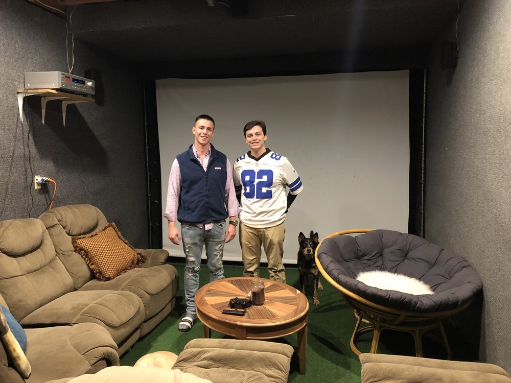 - Theater room is a client favorite for late night movies, sports and occasional gaming.