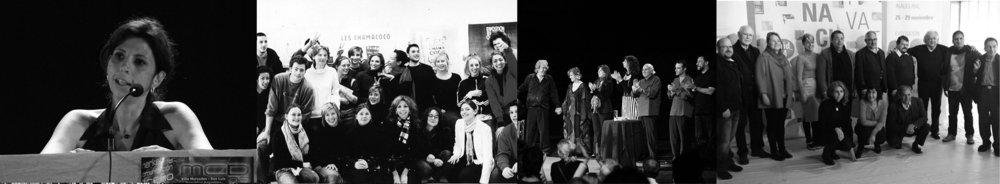 San Luis, Argentina. Encuentro regional de diseño / Paris, Francia. Workshop, Intuit Lab / Buenos Aires, Argentina. Paco Ibáñez. Lanzamiento Disco Poetas larinoamericanos / Madrid, España- Comite asesor Bienal de Diseño