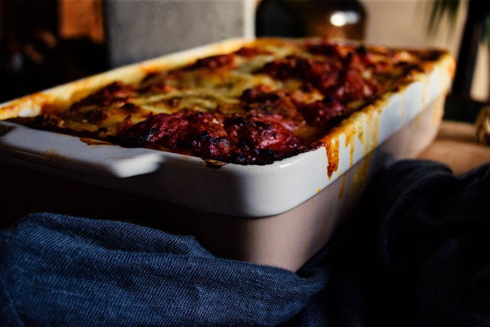 Crepes Lasagna with Chicken