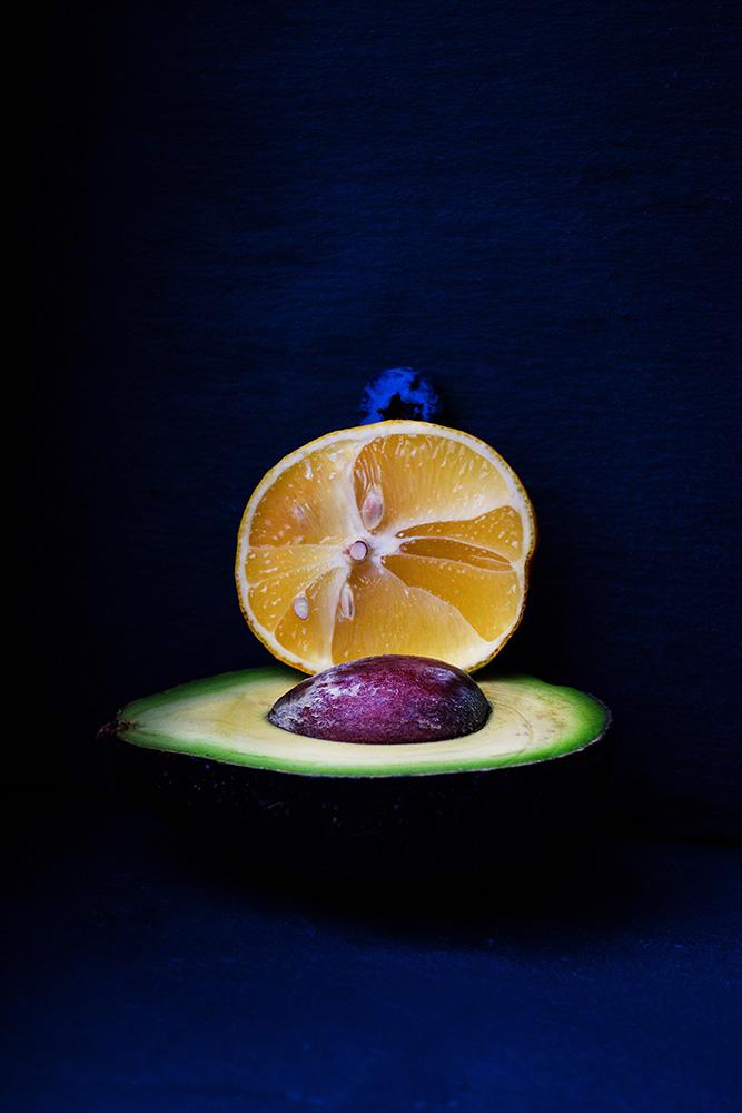 Half Avo + Half Lemon + A Blueberrie