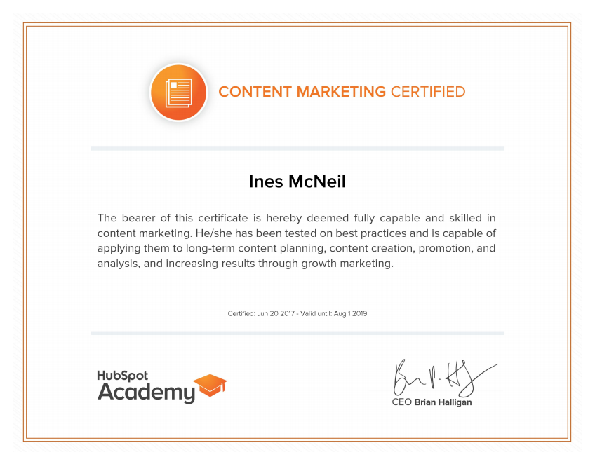 InesMcNeil - Content Marketing Certification.png