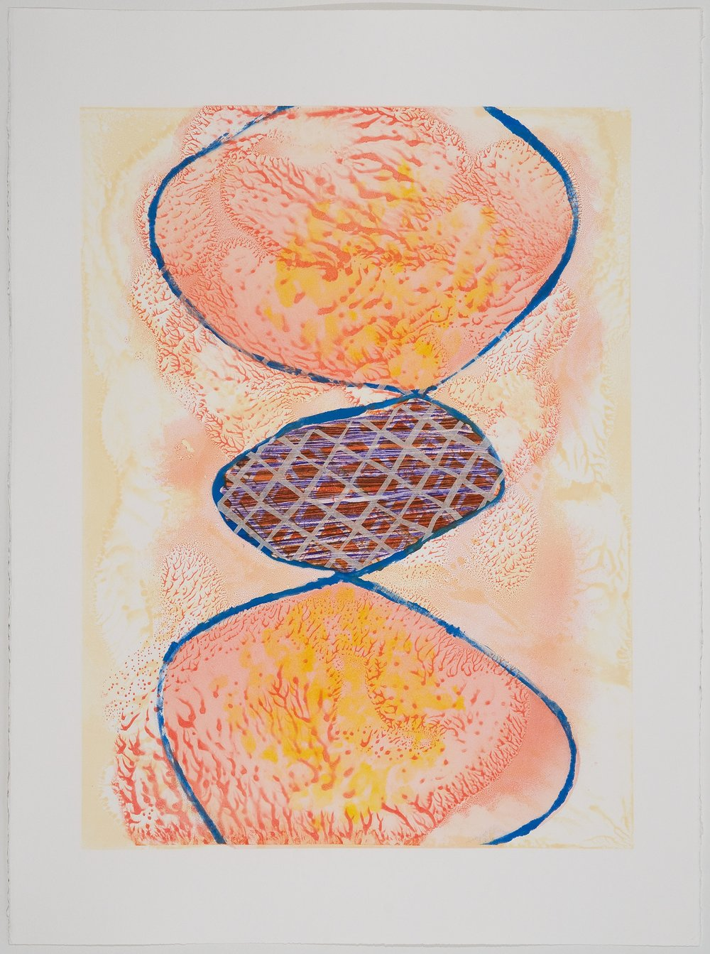 Untitled (VI) , 2010 Monotype Image Size: 18 x 26 inches Paper Size: 22 x 30 inches Series of 6