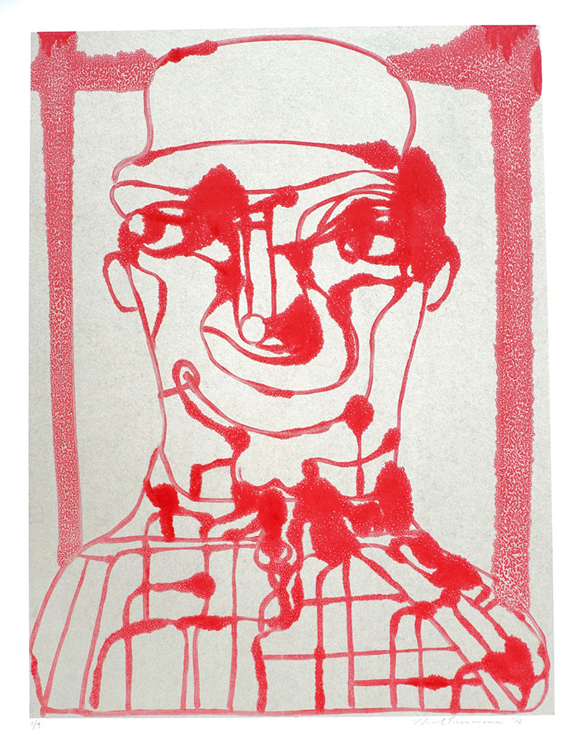 Josh (I) , 2012 Monotype Image size: 24.25 x 18.25 inches Paper size: 30 x 22 inches Series of 9