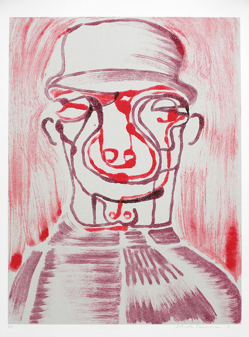 Josh (III) , 2012 Monotype Image size: 24.25 x 18.25 inches Paper size: 30 x 22 inches Series of 9
