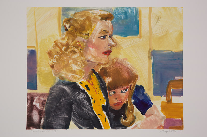 Gena Rowlands CaseMaking , 2015 Monotype Image Size: 16 x 20 inches Paper Size: 22 x 30 inches Series of 24