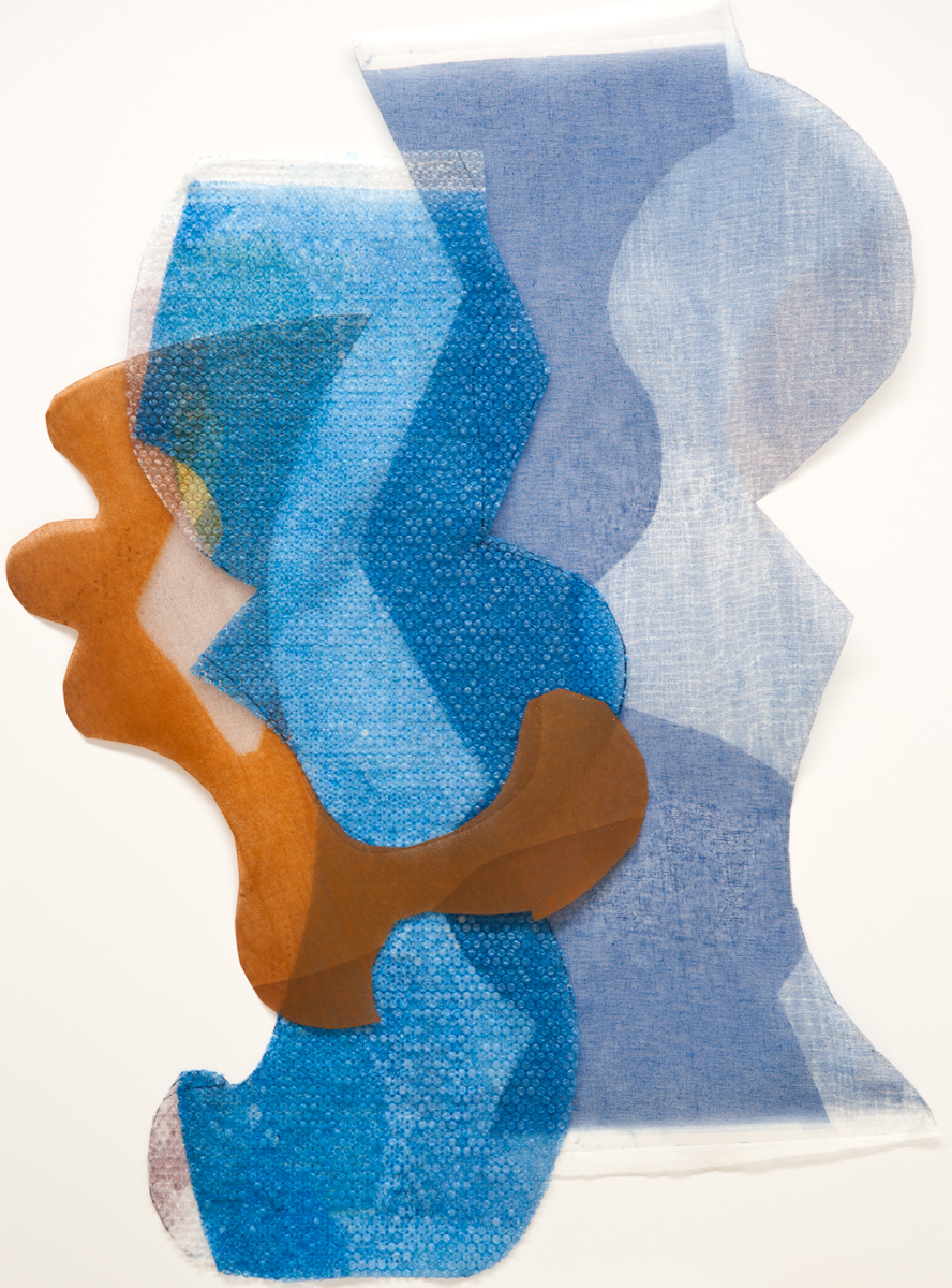 Untitled 8, Tom Vessel Series , 2014 Monotype Image & paper size: 42.5 x 30.25 inches