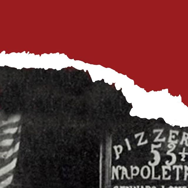 """Pizza Fact #1: Lombardi's is the first self-described pizzeria in the United States. They opened in 1905 and painted the word """"PIZZERIA"""" on the window. There is no known evidence of this happening before they did it...so technically they're America's first Pizzeria! Interestingly enough, there were lots of bakeries who were making pizza at the time, but were not calling themselves pizzerias. #pizza #museumofpizza #MoPi #nyc"""