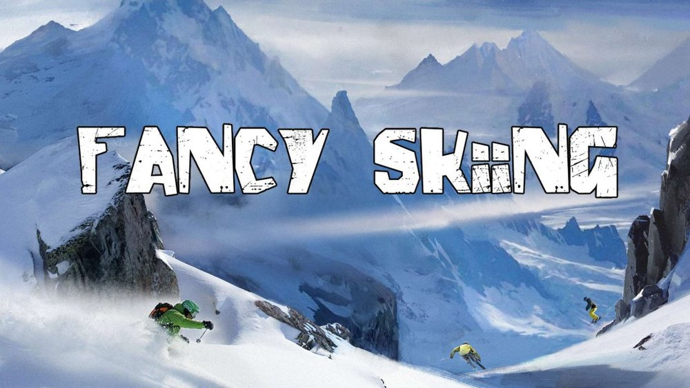 Copy of Fancy Skiing
