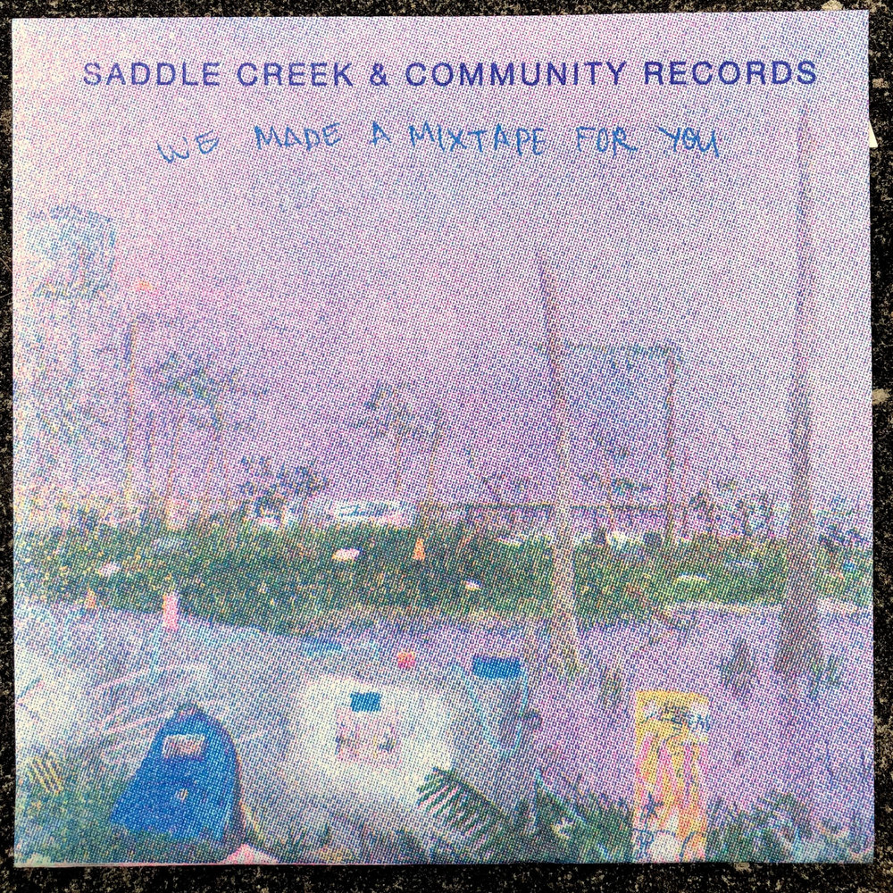 SADDLE CREEK // COMMUNITY RECORDS MIXTAPE