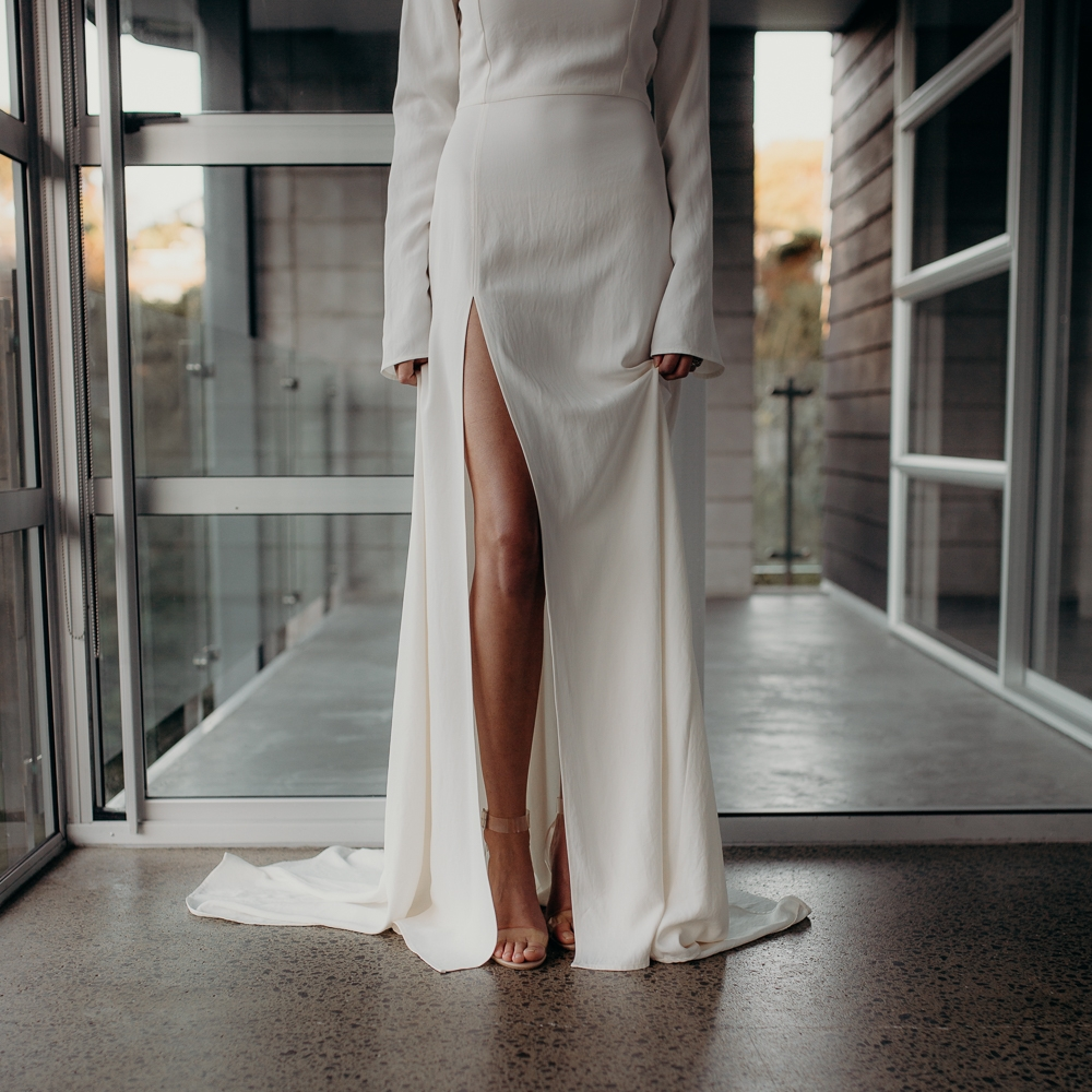 Hayes Bridal - Ready to wear and bespoke bridal - Minimalist perfection for the relaxed bridehayesbridal.co.nz