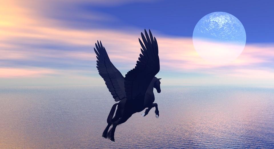 Bist du ein Pegasus? -