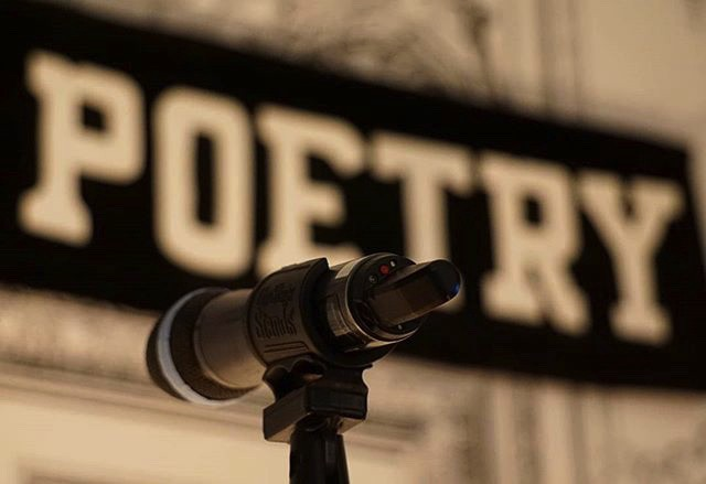 A glimpse of Bowery Poetry Club's historic stage