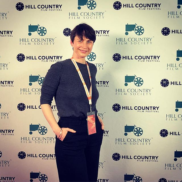 We took a break from insta, here's a #latergram from our fabulous time at #HCFF Hill Country Film Festival. She was too busy to take good pics I guess. Xoxo #oldhabitsmovie