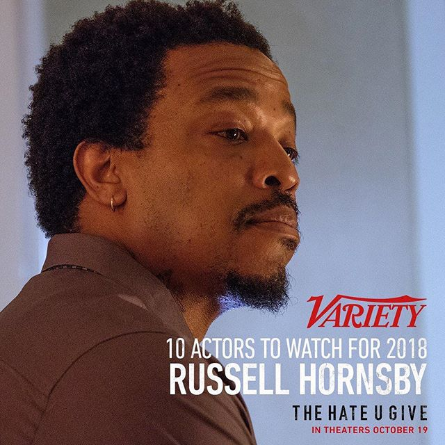 Congratulations Russell! The @fevahmovie team is so proud of you. Glad Variety is FINALLY on it and spreading the good word. You did an exceptional job in FEVAH and I'm sure you'll knock it out of the park in @thehateugivemovie. Watch out world—! October 29, 2018 #russellhornsby #bestactor #fevah #thehateyougive #thehateyougivemovie
