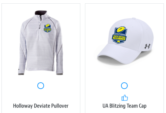 we have embroidered gear!