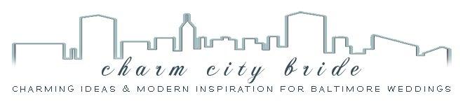 Charm City Bride - my first blog, established in 2008. Logo design