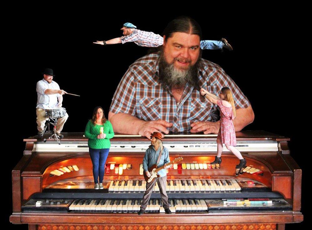 Chris Welch & The Cicada Killers (L-R): Clint Sawyer, Holly Manning, Dave Huff, Patrick Newkirk, Chris Welch, Kelly Evans. (Photo: Aubrey Mortensen)