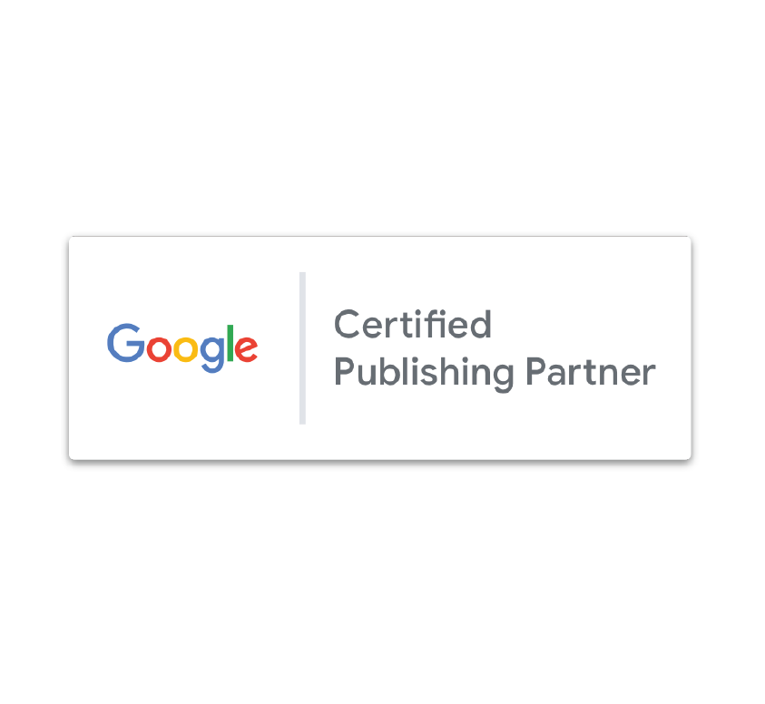 Google created the Certified Publishing Partner program to help its publishers grow and flourish and we're proud to be one of the select agencies recognized by Google for our cross-product expertise, including AdX, DFP, and DBM.  Learn more