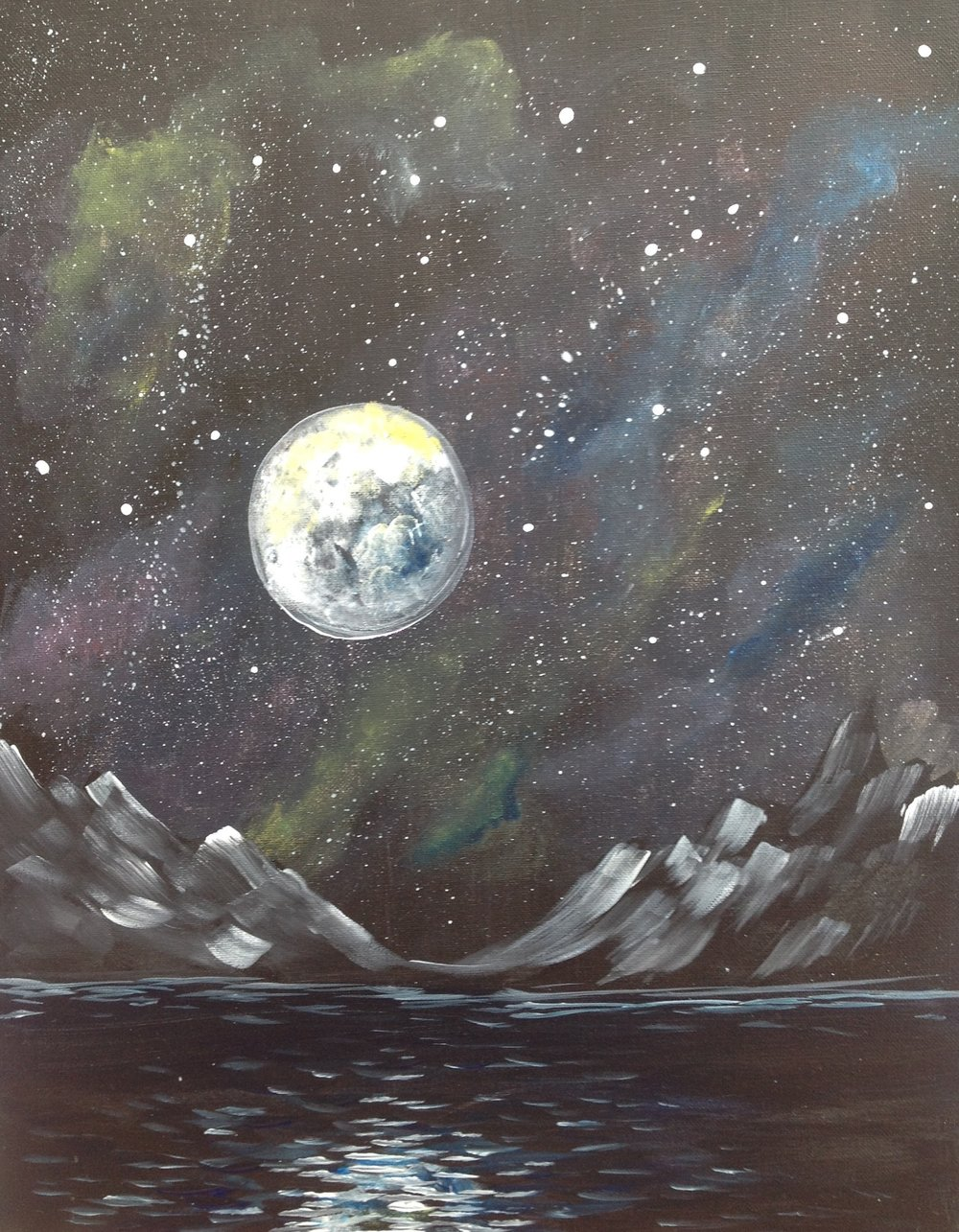 Dark Cosmic Moon