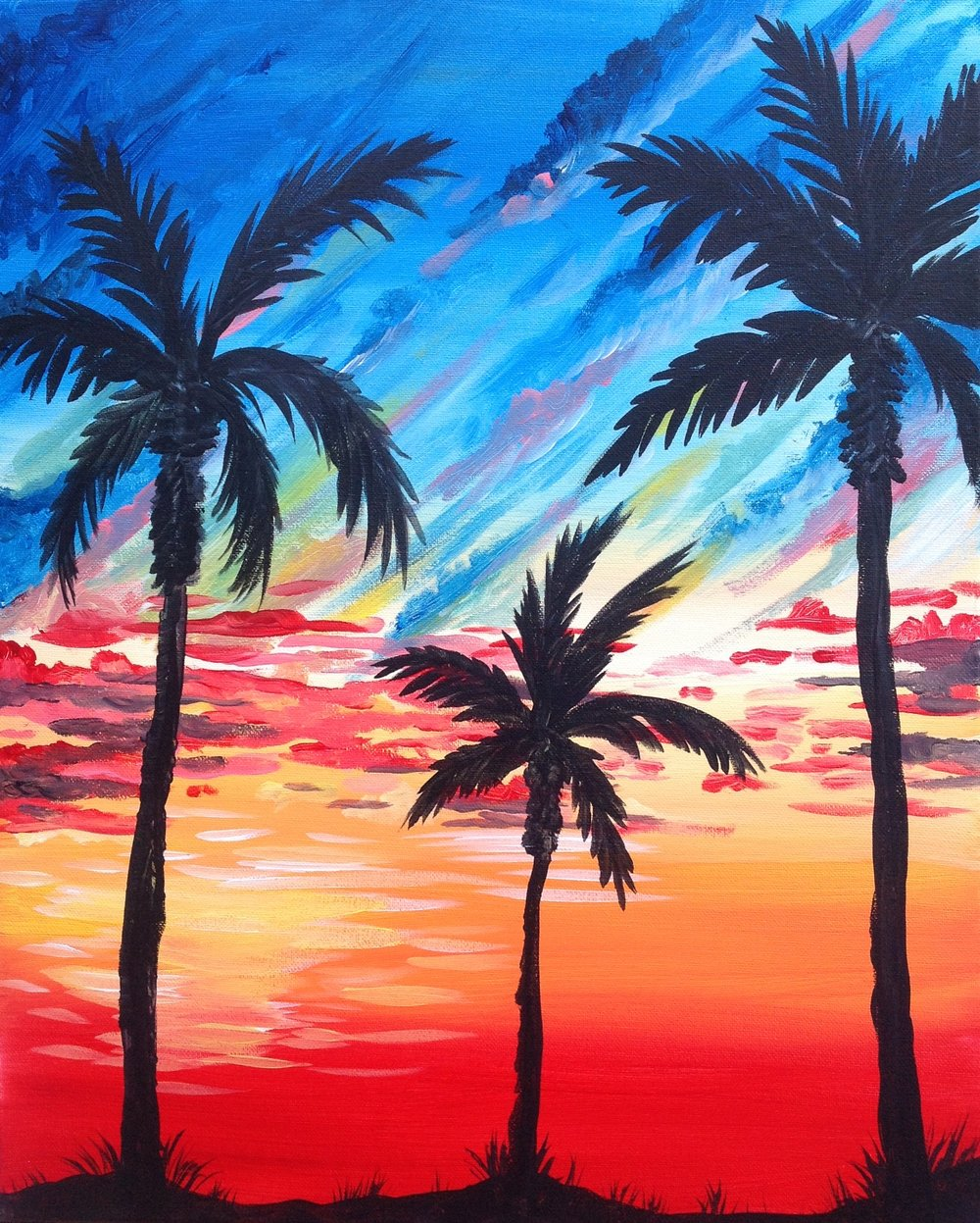 Sunset at the Palms