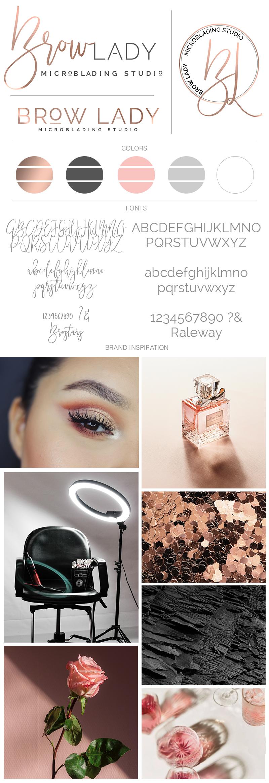 Brow Lady Brand Board.jpg