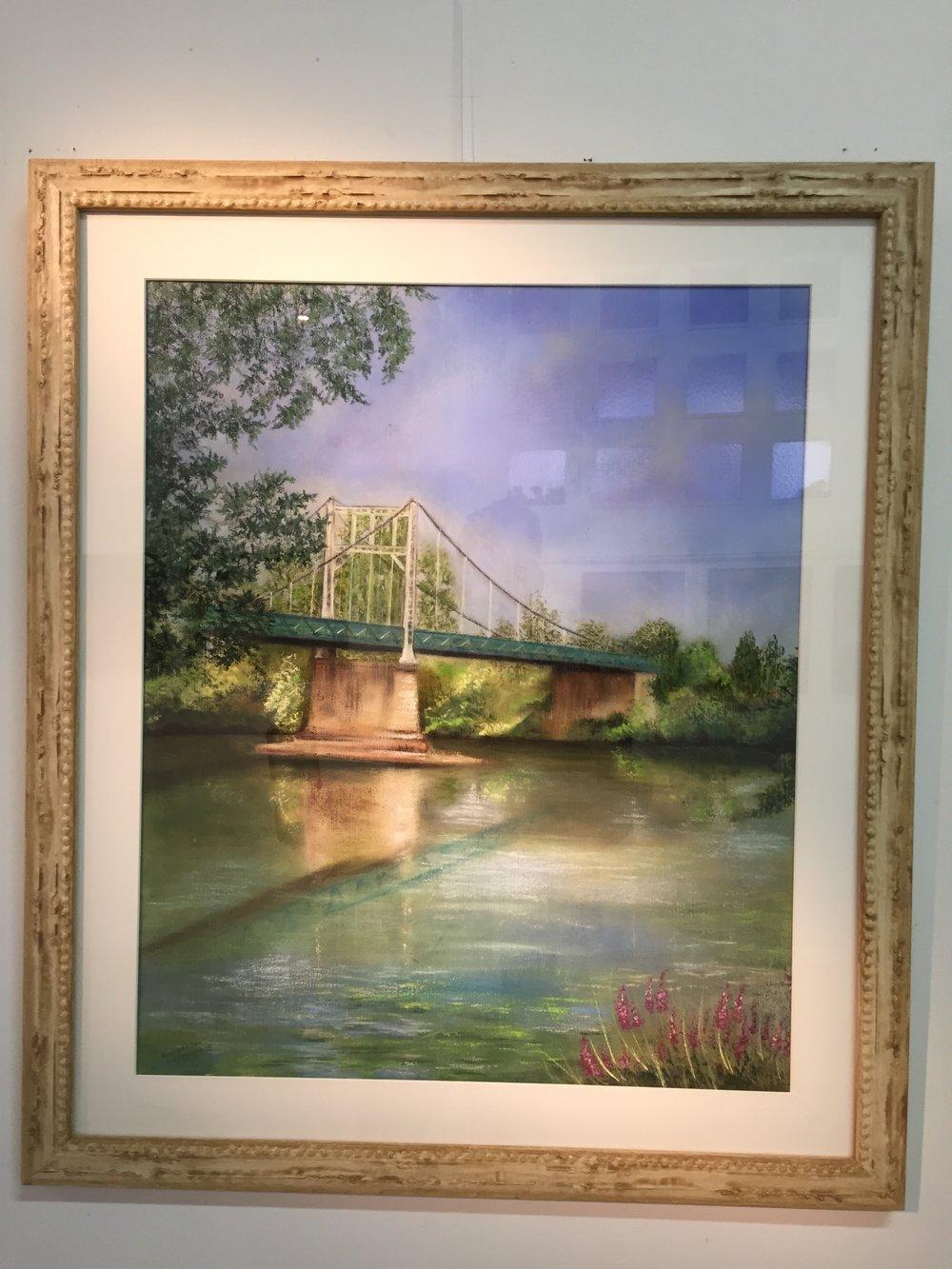 Le pont d'Auvillar