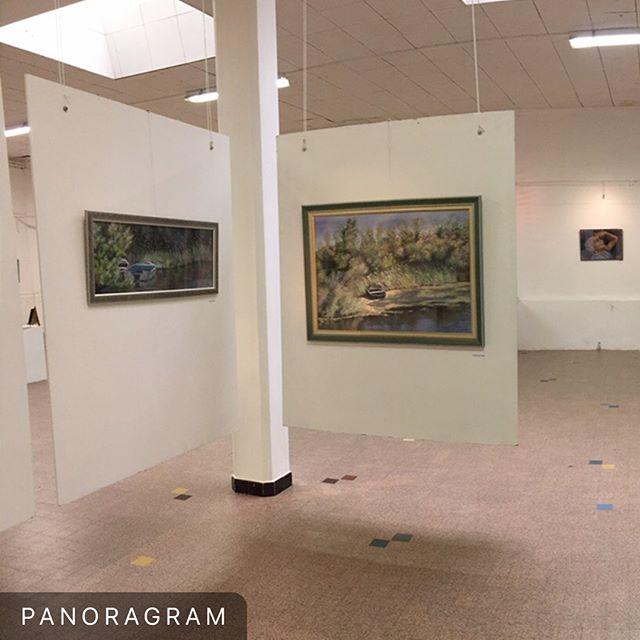 """Une vue à près de 360 degrés de l'espace réservé à Lysiane Lagauzère @lysiane.lagauzere dans le cadre de l'exposition """"Femmes Pastellistes"""" visible jusqu'au 15 Avril. #exposition #exhibition #art #pastel #centredart #auvillar #artiste #artist #womeninart #vernossage #museum #musee #galeriedart #gallery #artgallery #galerie"""