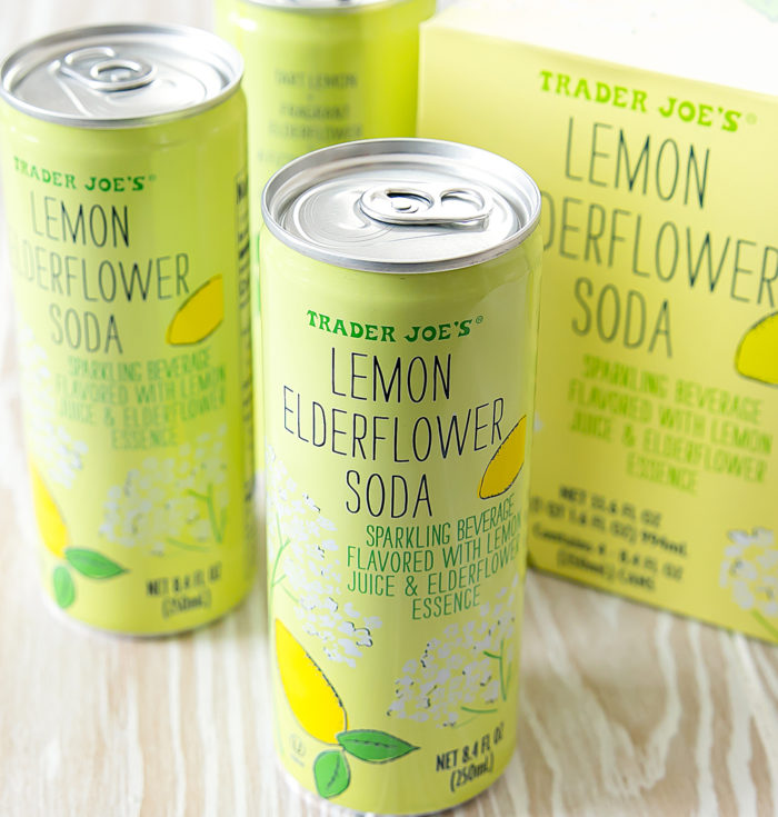 Lemon Elderflower Soda