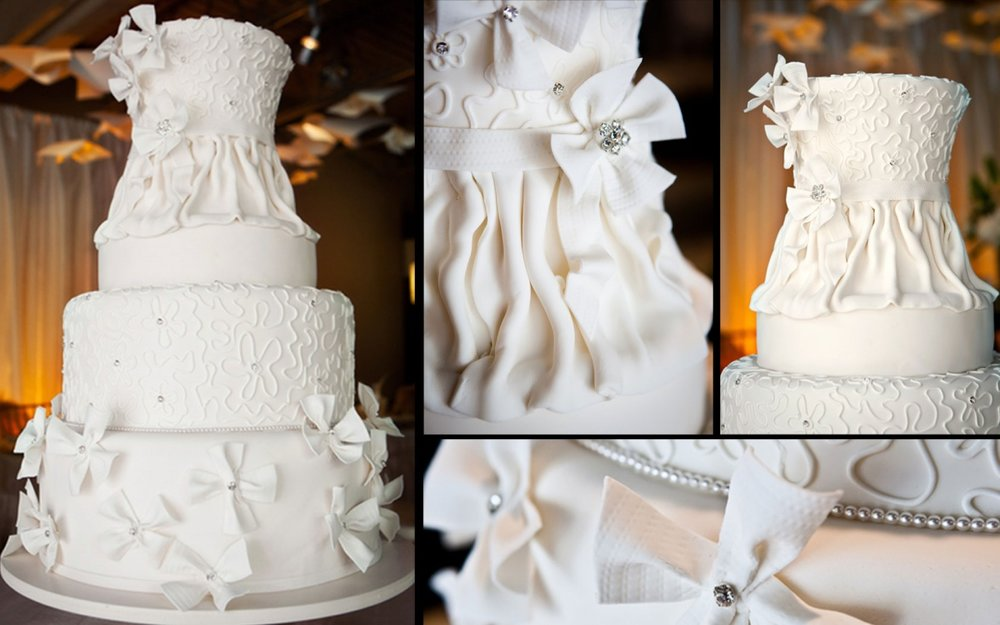 frosted pumpkin - atlanta wedding cake