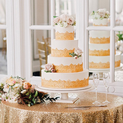 Frosted Pumpkin Gourmet - Frosted Wedding Cakes