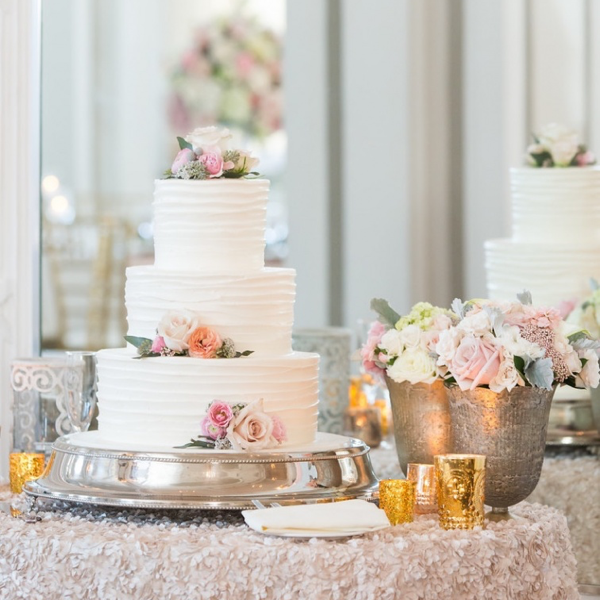 frosted pumpkin wedding cake in Atlanta - groove and spatula