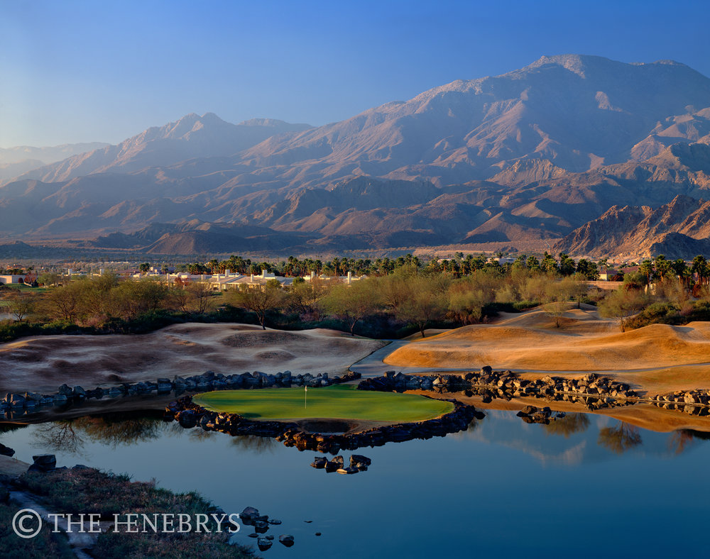 """Alcatraz"" 17th PGA West Stadium Course, La Quinta, California"